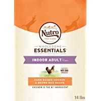 Nutro Wholesome Essentials Dry Food for Cats - Chicken - Indoor - 6.35kg