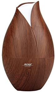 NOW® Foods Ultrasonic Wood Grain Oil Diffuser