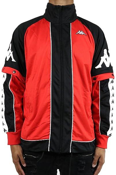 5a5778cbf Kappa 222 Banda Big Bay Jacket LARGE RED: Amazon.ca: Clothing ...