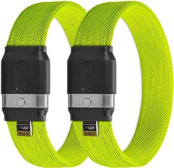 Cerradura de bicicleta Twin LITELOK® Gold (verde boa)