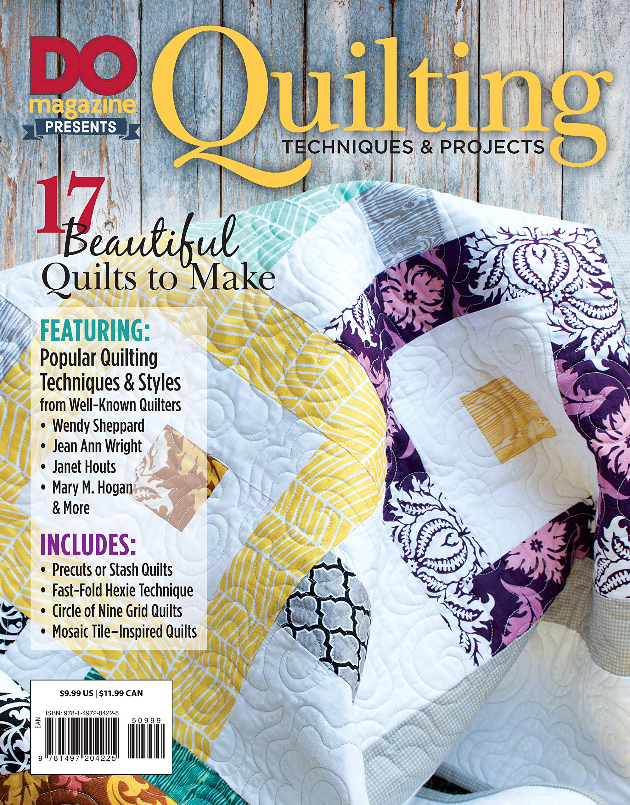 Do Magazine Presents Quilting Techniques Projects Design
