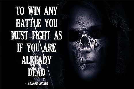 Amazon.com : Military Poster Military Motivation Miyamoto ...