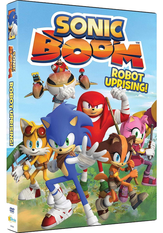 Amazon Com Sonic Boom Robot Uprising Animated Movies Tv