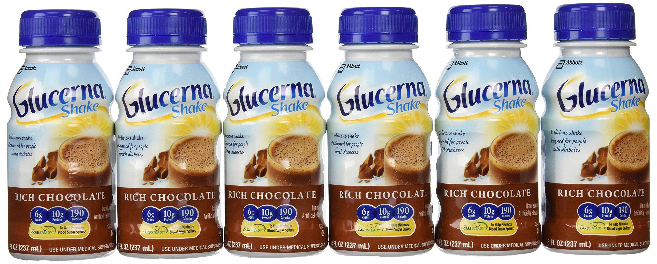 Glucerna Shake Rich Chocolate, 24 Count