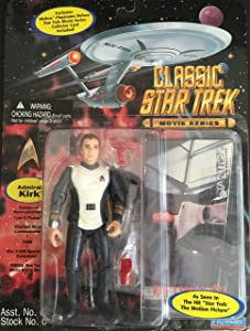 Star Trek The Motion Picture Admiral Kirk 4 inch Action Figure