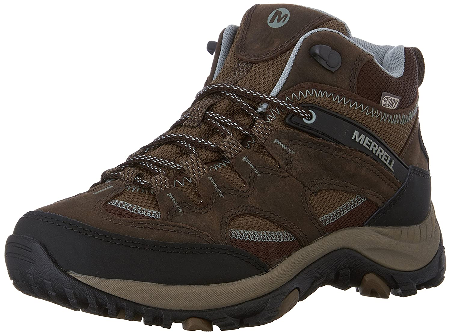 06c64ca8bfb Merrell Women's Salida Mid WTPF Ankle Boot Brown