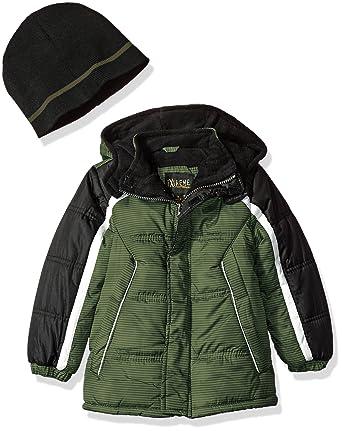c3b5447a38b9 Amazon.com  iXtreme Boys Colorblock Gwp Puffer  Clothing