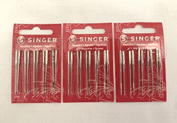 Best Sewing Machine 2020.Singer Sewing Machine Needles 2020 Red Band Size 14 90 30 Count