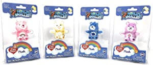 World's Smallest Mini Care Bears Set of 4 Cheer - Share - Grumpy - Funshine