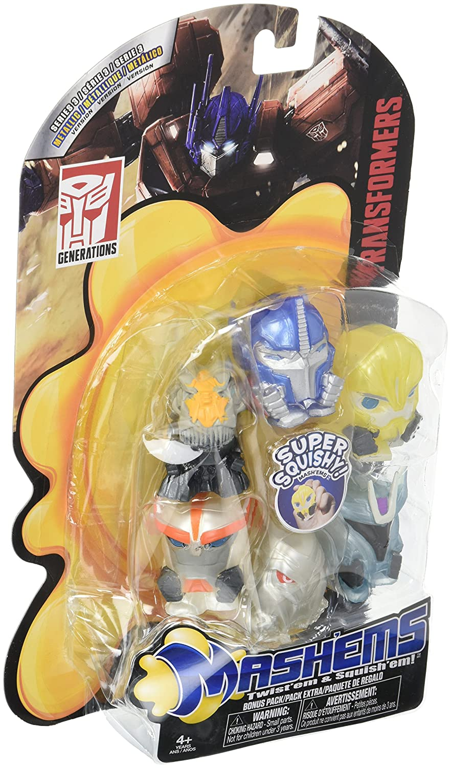Tech 4 Kids Mashems Value Pack Transformers S1 Action Figure DISBY 50028
