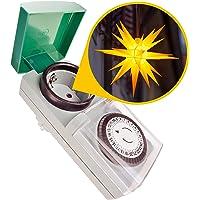 Timer voor buiten, magische lichtglans automatisch geregeld, tijdschakelklok tempo, eenvoudig te bedienen, bijzonder…