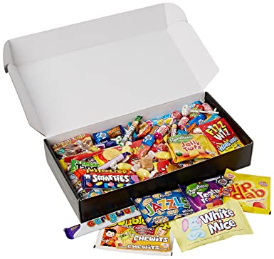 The best ever retro sweets mega treasure gift box chocolate bars the best ever retro sweets mega treasure gift box chocolate bars pack perfect gift negle Image collections