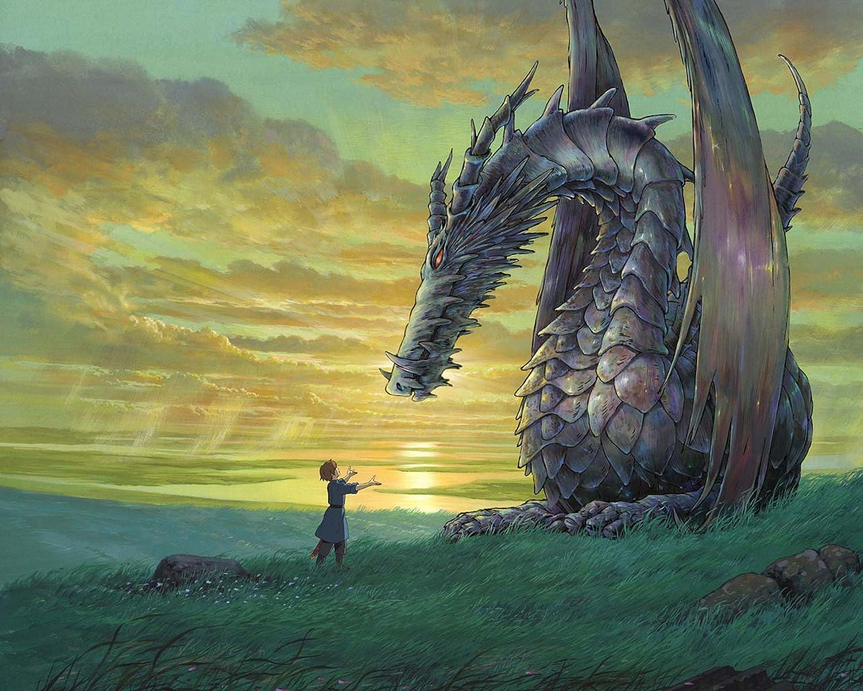 Posterhouzz Movie Tales From Earthsea Dragon Ghibli Anime Hd