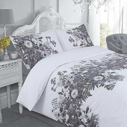 The Bed Linen Store Maisie Floral - Juego de funda de edredón ...
