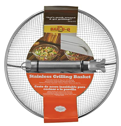 Mr. Bar-BQ 06815X Stainless Steel Mesh Grilling Bowl
