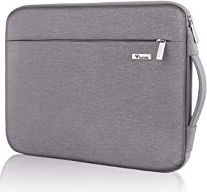 "Voova Laptop Sleeve Case 13 13.3 inch with Handle, Upgrade 360° Protective Computer Carrying Bag Compatible MacBook Air/MacBook Pro/13.5"" Surface Book 3 2/XPS, Chromebook Cover with Organizer Pocket"