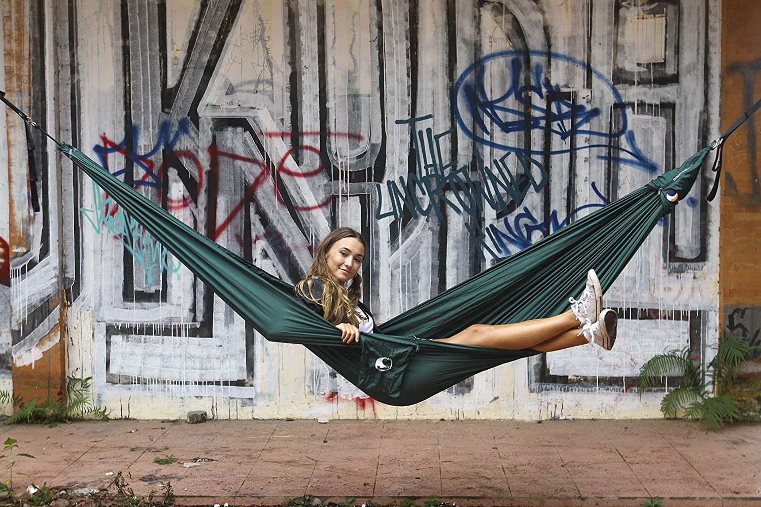 and Everyday Use Ticket to the Moon Single//Compact Fair Trade /& Handmade Lightweight Hammock for Traveling Only 480g Warranty Parachute Silk Nylon OEKO-TEX 10Y Set-Up  1 min. Camping