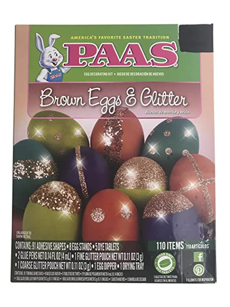 Amazon.com : Paas Easter Egg Deggorating Party Kit - 9 Kits in One! : Grocery & Gourmet Food