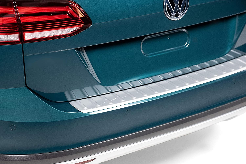 Volkswagen 2018-2019 VW Tiguan Rear Bumper Bumperdillo Protection Step Pad Plate OEM