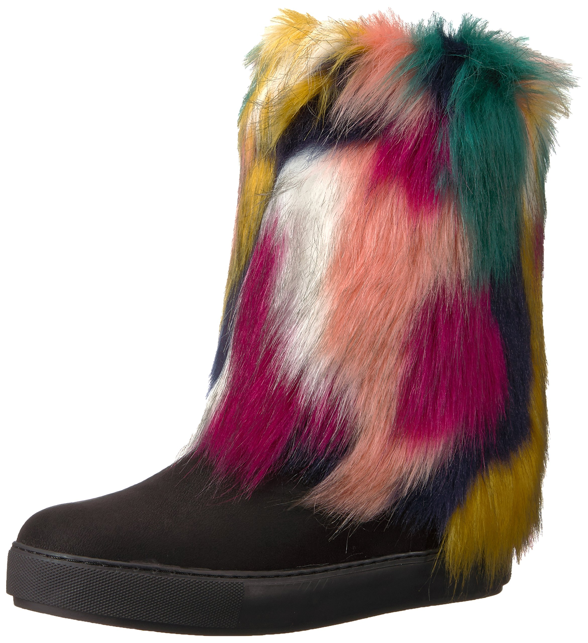 Penny Loves Kenny Women's Airbrush Winter Boot, Black/Multi, 7.5 W US
