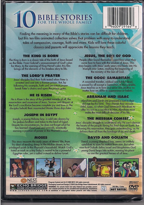 amazon com 10 bible stories movies u0026 tv