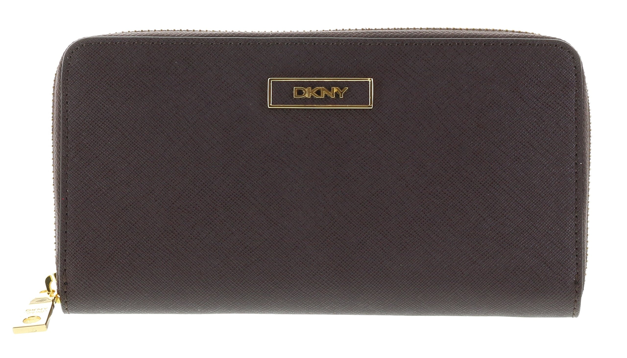 DKNY Women's SLGS Saffiano Leather Wallet Style 761522104 (Burgundy)