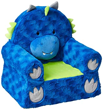 Awesome Animal Adventure Sweet Seats Character Chair Blue Dragon Machost Co Dining Chair Design Ideas Machostcouk