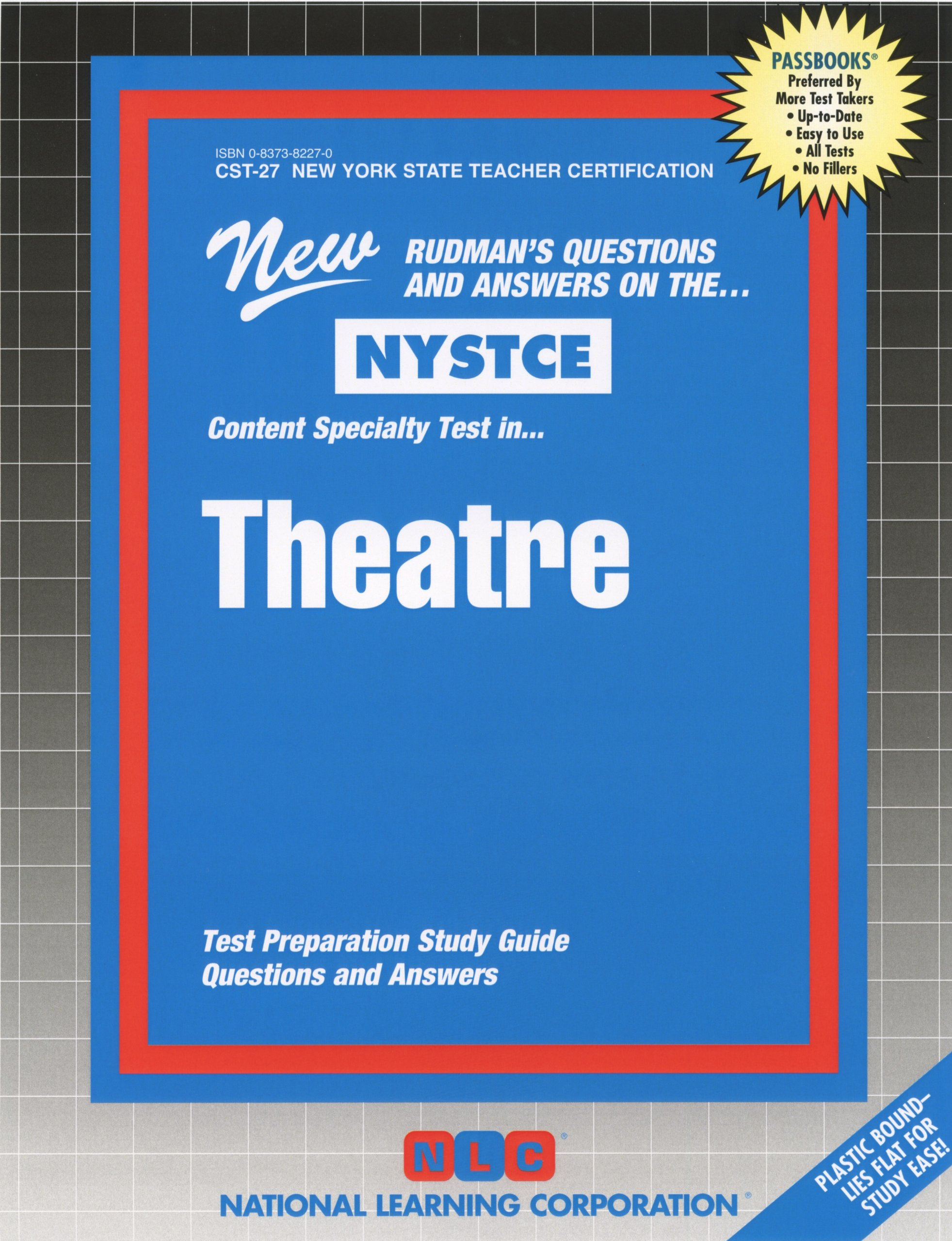 Buy Theatre Nystce New York State Teacher Certification Exams