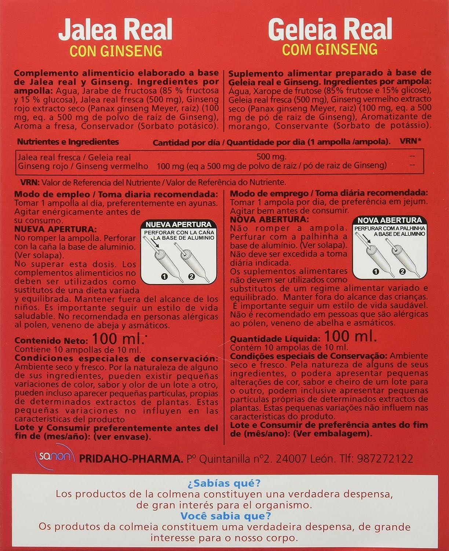 Sanon Jalea Real y Ginseng - 3 Paquetes de 10 Unidades: Amazon.es: Salud y cuidado personal
