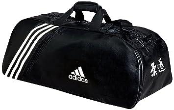 new authentic 100% genuine online retailer adidas Judo Sac de Sport 2 en 1 60 x 30 x 30 cm Noir/Blanc ...