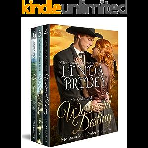 Montana Mail Order Bride Box Set (Westward Series) - Books 4 - 6: Historical Cowboy Western Mail Order Bride Bundle…