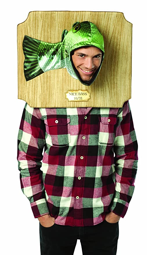 Amazon.com Rasta Imposta Nice Bass Trophy Costume Green One Size Clothing  sc 1 st  Amazon.com & Amazon.com: Rasta Imposta Nice Bass Trophy Costume Green One Size ...