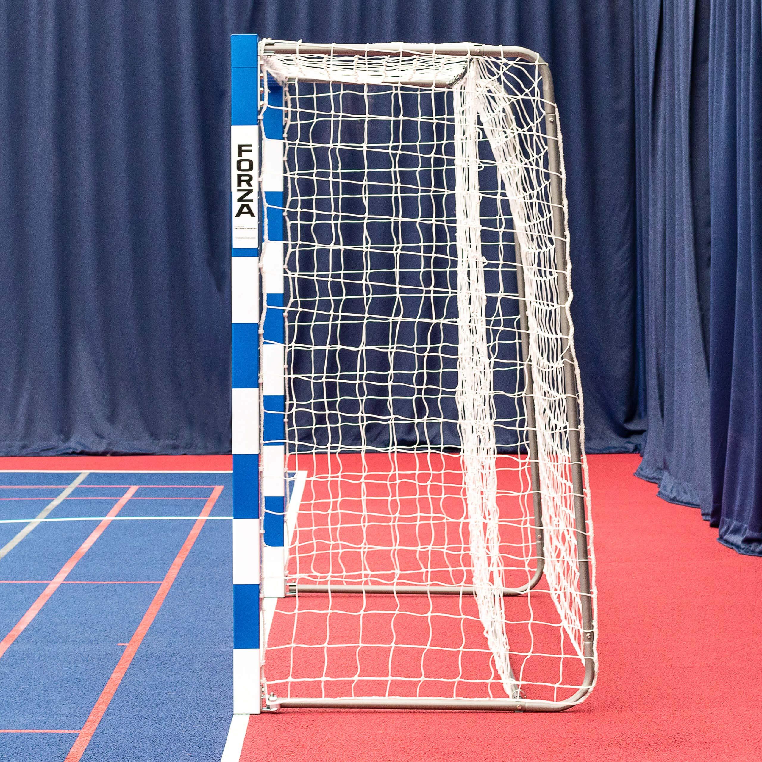 Forza Alu80 Competition Handball Goals   IHF Regulation Size 3m x 2m Handball Goal [Net World Sports] (Pair, Blue) by Forza (Image #3)