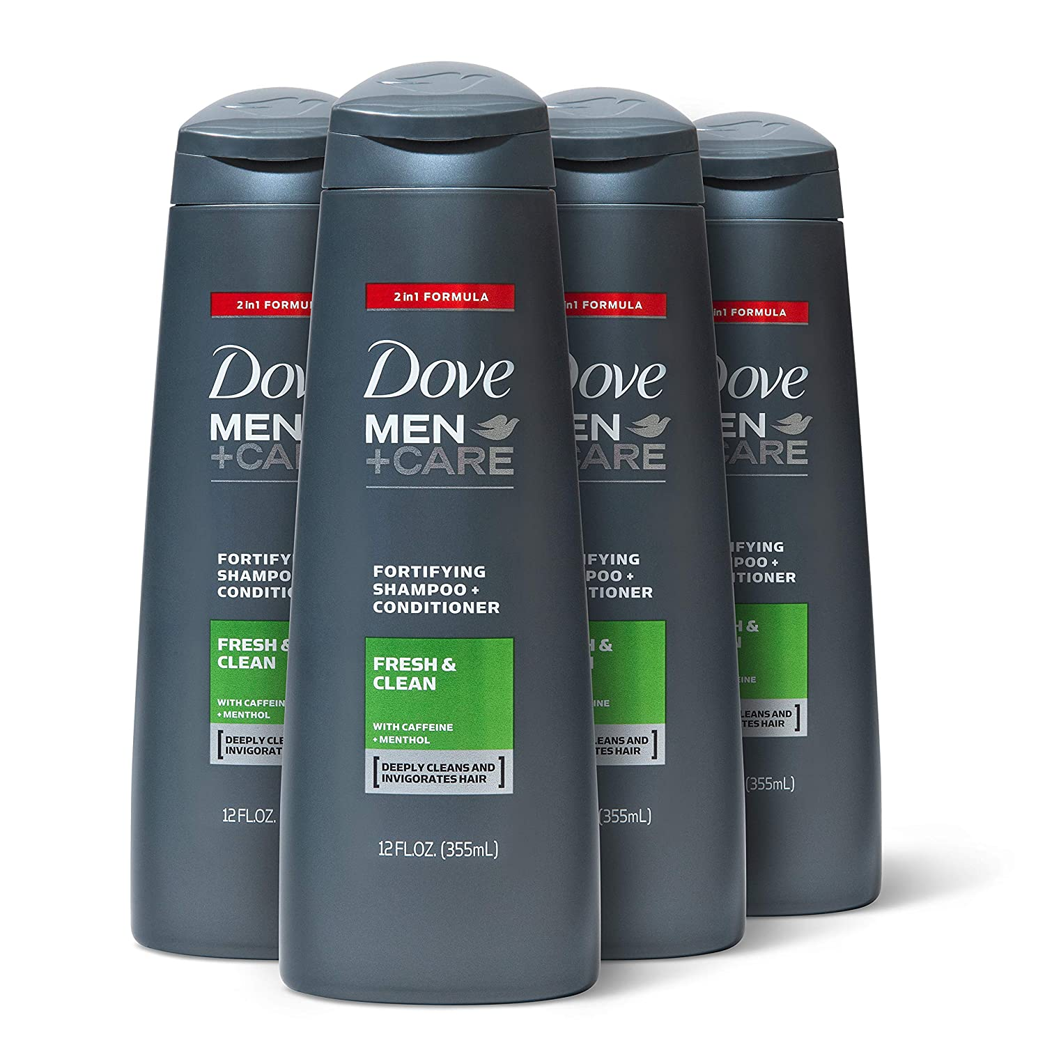 Dove Men+Care 9 in 9 Shampoo and Conditioner, Fresh and Clean, 99 oz, 9  count