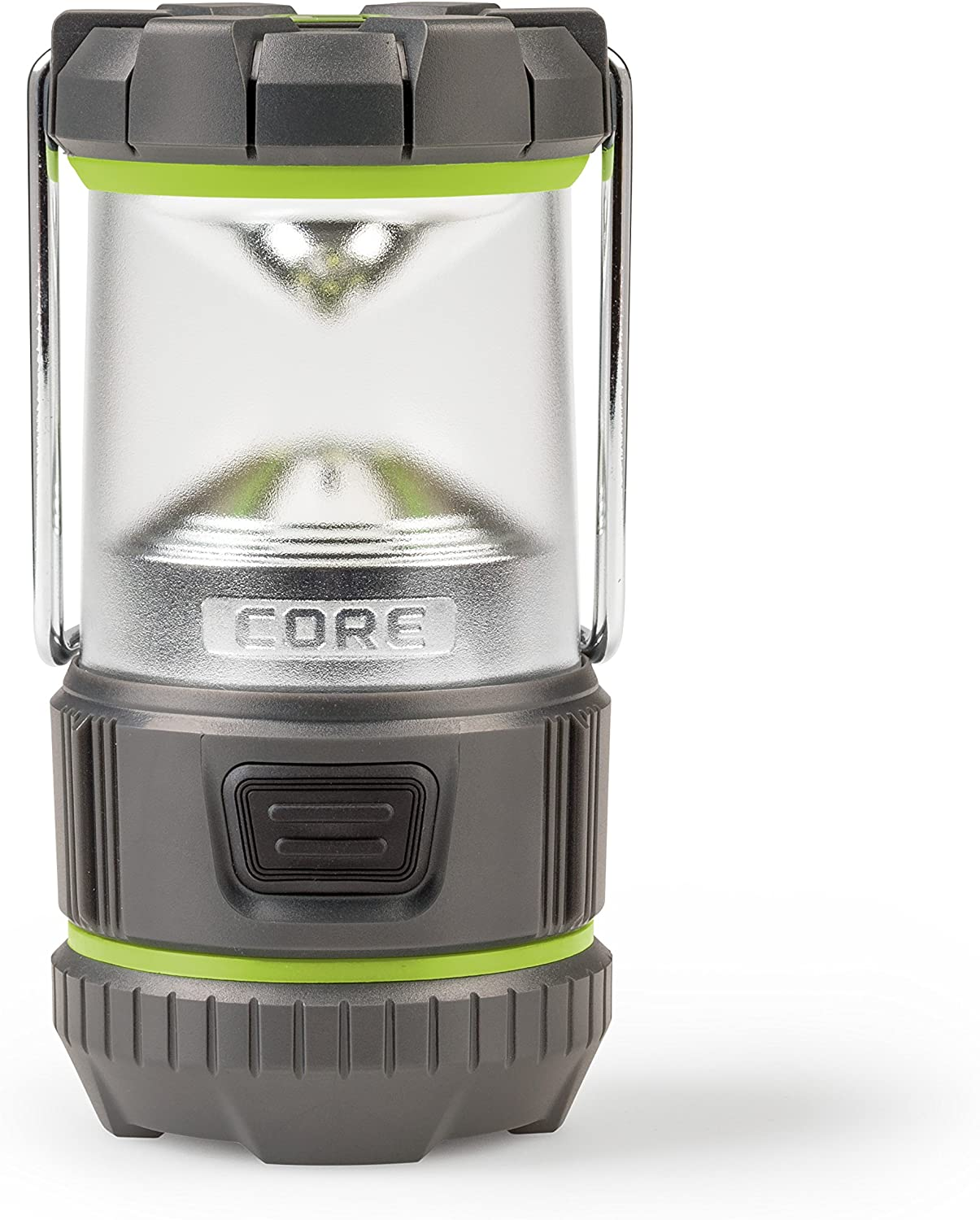 CORE 85 Lumen LED Mini Battery Lantern, 3 AA not Included , Camping Emergency Lantern