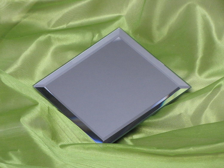 12 x 12 cm ; M-28 Kerzenteller//Glasteller//Spiegelteller