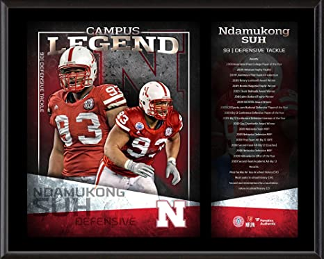 official photos 4681d a6004 Ndamukong Suh Nebraska Cornhuskers 12