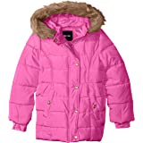 Limited Too Girls Memory Puffer W Printed Lining