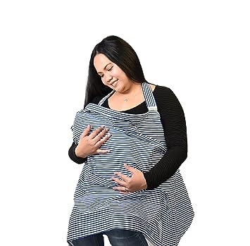 bc1765aa8af Housse d allaitement - Tablier Flexible à baleines décolleté avec une poche
