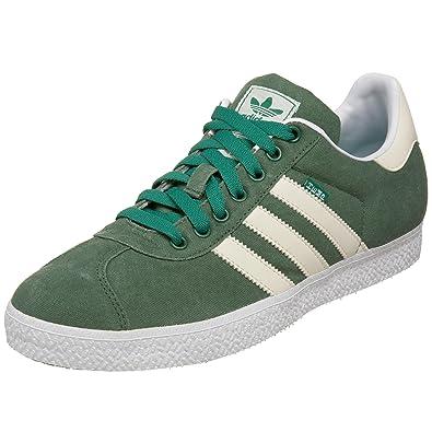 more photos 79c02 0ee6d adidas Originals Men s Gazelle 2 Hemp Fashion Sneaker,Fairway Ecru White,10