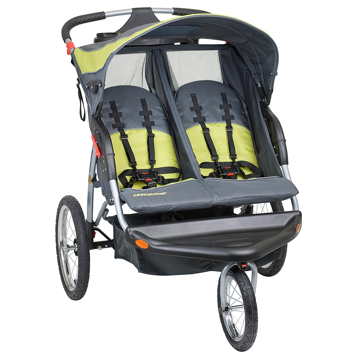 Baby Trend Expedition Double Jogger Stroller, Carbon DJ96710