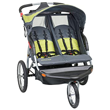 Amazon.com : Baby Trend Expedition Double Jogger Stroller, Carbon ...