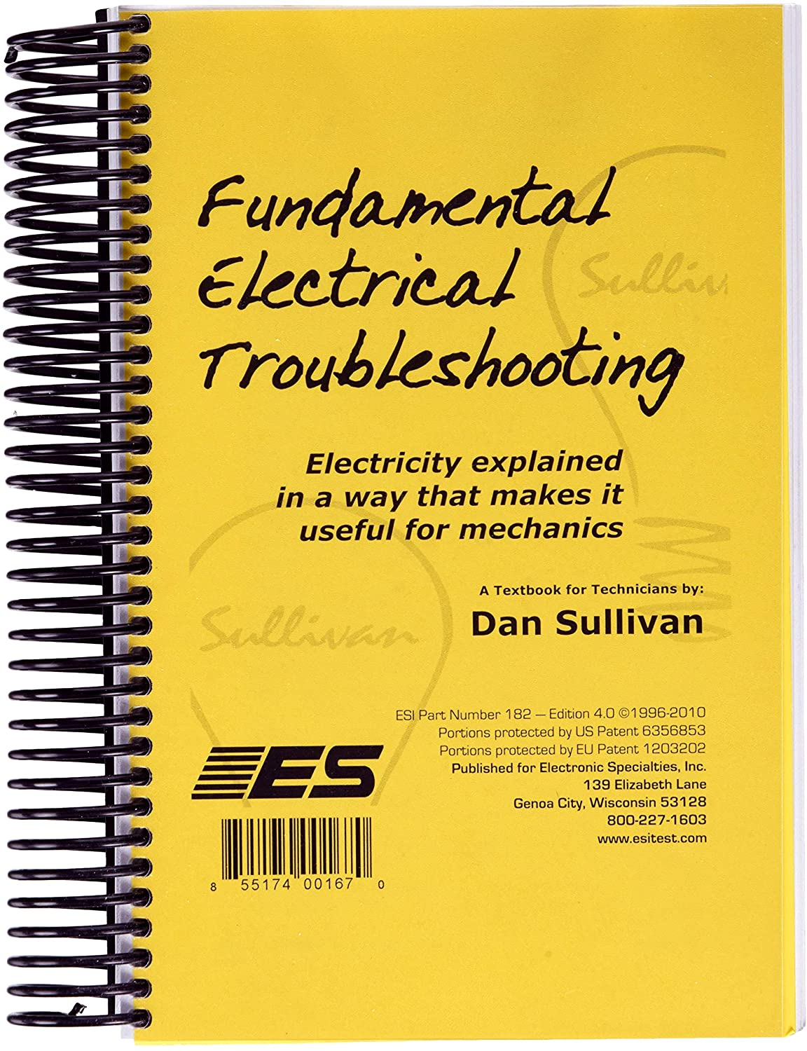 Electronic Specialties 182 Fundamental Electrical Troubleshooting Book