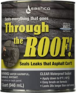 Amazon com: Sashco Through The Roof- Cement & Patching