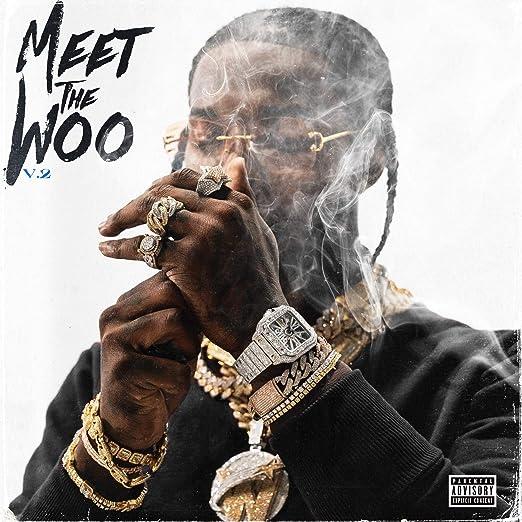 """Pop Smoke /""""Meet the Woo/"""" Art Music Album Poster HD Print Wall Decor"""