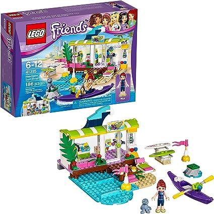 LEGO Friends Heartlake Surf Shop set 41315 186 Pcs