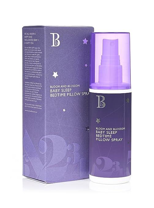Bloom y Flor Bebé Dormir cama almohada Spray 75 ml: Amazon ...