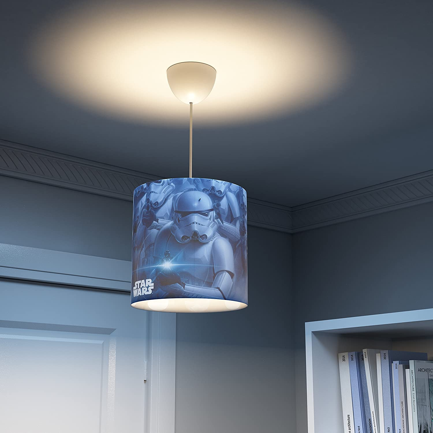 philips star wars stormtroopers children s ceiling suspension light