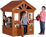 amazon com backyard discovery timberlake all cedar wood playhouse rh amazon com backyard discovery timberlake cedar wooden playhouse assembly At Sam's Club Cedar Playhouse