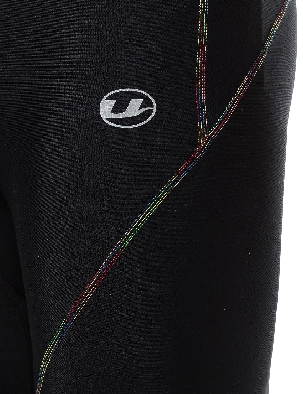 Ultrasport Herren Kompressionshose Rainbow 3//4 Capri